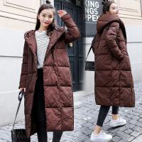 外套女加厚2018女装新款冬季羽绒韩版中长款棉衣冬装棉袄衣服