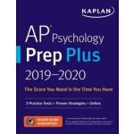 【预订】AP Psychology Prep Plus 2019-2020: 3 Practice Tests ] S