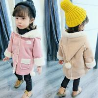 女童秋冬装外套女宝宝小女孩衣服可爱