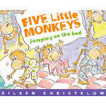 Five Little Monkeys Jumping on the Bed 五只小猴子在床上 ISBN 9780395557013