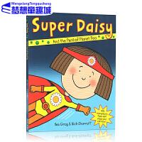 Super Daisy 英文原版 超人黛西 吴敏兰书单 Nick Sharratt 儿童绘本