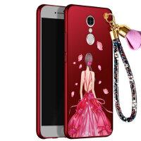 360 N4S手机壳 360n4a保护套 360 n4s n4a 手机壳套 保护壳套 个性挂绳全包硅胶防摔彩绘软潮壳女