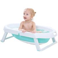 婴儿洗澡盆新生儿bb宝宝折叠浴盆儿童洗澡桶大号可坐躺便携式旅行