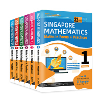 新加坡数学教材 小学 SCPH Learning Mathematics 1-6年级教程 儿童英文原版图书(6册)