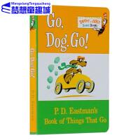 Go Dog Go 小纸板书 dr seuss系列 苏斯博士英文原版绘本