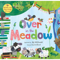Over in the Meadow(A Barefoot Singalong)穿过草场(书+CD)ISBN97818