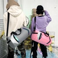 出差短途旅行包简约大容量手提单肩包旅游健身瑜伽包行李包