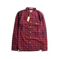SUPERDRY/极度干燥衬衫男夏季新款男士格子衬衣M40MR002