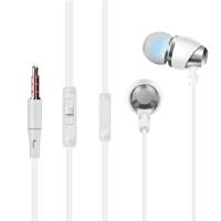 【当当自营】 Easeyes 爱易思 E821 线控入耳式金属耳壳音乐耳机 白色