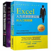 Excel人力资源管理实操从入门到精通+Excel函数 图表与透视表从入门到精通共2册 excel教程书 excel