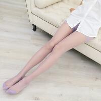丝袜防勾丝夏季炫彩彩色糖果色马卡龙色女士连裤袜 均码
