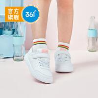 361度童鞋 女童滑板鞋2020年夏季百搭小白鞋休闲学生板鞋