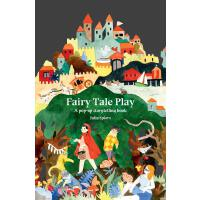 英文原版 童话故事立体书 Fairy Tale Play: A pop-up storytelling book