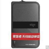 爱国者(aigo) HD816 500GB 无线移动硬盘 USB3.0 黑色