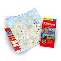 最新版世界分国目的地地图:澳大利亚旅游地图(撕不烂防水地图,中英文对照,交通、旅游、留学全方位信息)