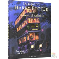 Harry Potter and the Prisoner of Azkaban 哈利波特与阿兹卡班的囚徒 全彩插图精装