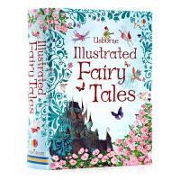 英文原版绘本 Usborne Illustrated Fairy Tales 精装版 全彩插画版 神话故事图画书 儿童