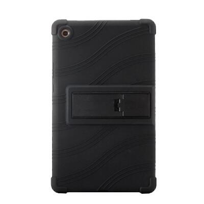 华为M5平板电脑8.4英寸保护套SHT-AL09硅胶套软壳SHT-W09全包防摔 8.4寸M5 黑色