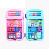 晨光小学生学具盒 多功能套装七巧板用品幼儿教具计数器 ASD99807