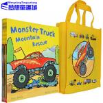 Busy Wheels 英文原版 忙碌的车轮子系列绘本 8册全套装 3-6岁低幼 彼得・本特利 Peter Bentl
