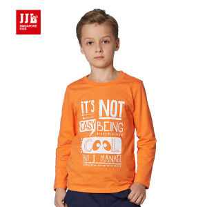季季乐童装男童t恤长袖纯棉新品2016春秋款长袖T恤休闲卡通上衣BCT61012