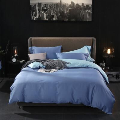 60支长绒棉床上四件套全棉纯棉床单被套2.22.41.8米床笠