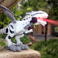 儿童电动恐龙玩具仿真动物模型遥控霸王龙大号会走路的玩具