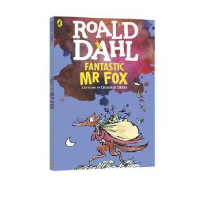 了不起的狐狸爸爸 英文原版小说 Fantastic Mr Fox 罗尔德达尔 Roald Dahl 电影原著 青少年 10 15岁