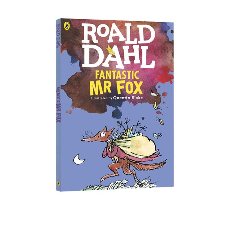了不起的狐狸爸爸英文原版小说 Fantastic Mr Fox 罗尔德达尔 Roald Dahl 电影原著 青少年 10 15岁