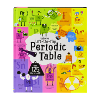 Usborne Lift-the-flap Periodic Table元素周期表翻翻书 儿童英语书籍 英文原版进口图