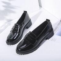 新款春夏秋季女学生韩版单鞋复古英伦风小皮鞋2019社会学院风女鞋