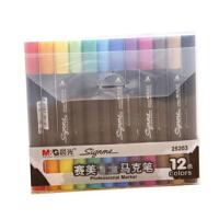 晨光文具 12色赛美专业马克笔 美术双头马克笔 APM25203