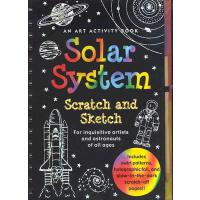 【预订】Solar System Scratch and Sketch: An Art Activity Book f
