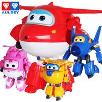 奥迪双钻超级飞侠玩具大号变形机器人全套装小飞侠玩具 乐迪 多多 酷飞 小爱