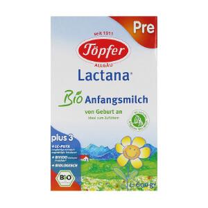 清仓大促  德国Topfer特福芬有机奶粉Pre段(0-6个月宝宝)600g一盒装  保质期到2017年6月左右