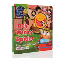 英文原版绘本Sing Along with Me Incy Wincy Spider Little Baby Bum会