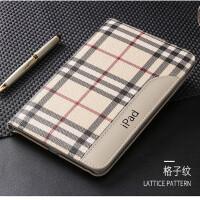 苹果平板电脑包ipad5 air2保护套9.7寸A474 566外壳子爱派6超薄 格子纹 ipadair2/6