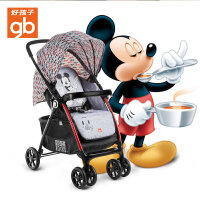 好孩子(Goodbaby)轻便婴儿推车迪士尼款双向推行宝宝推车 C260米奇(C260-P301GG)