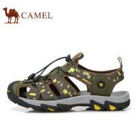 camel骆驼男鞋 夏季新品户外凉鞋 包头男沙滩鞋耐磨男鞋凉鞋