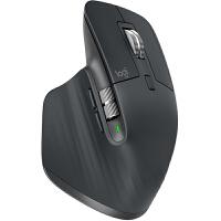 【支持当当礼卡】Logitech罗技MX Master 3 鼠标 无线蓝牙鼠标 办公鼠标 右手鼠标 双模优联 石墨黑 带