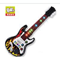 南国婴宝音乐小提琴 南国小明星电动吉他 声光音乐1-3岁宝宝玩具