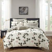 20191108074538040四件套全棉磨毛保暖床上用品床单式三件套