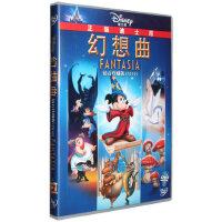 迪士尼动画幻想曲钻石版DVD首部立体音响奥斯卡金像奖英语