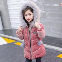 女童冬装棉衣外套宝宝小女孩棉袄