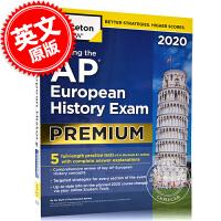 现货 2020年新版美国大学预科课程 破解AP欧洲历史 白金版 英文原版 Cracking the AP EUR HI