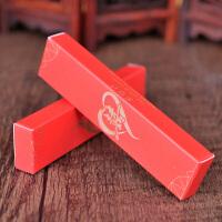 结婚用品喜烟盒婚礼个性创意婚房装饰红色两支装烟盒小巧礼盒批�l 印金- 经典双喜 两支装(数量50个)