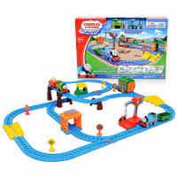 托马斯电动小火车轨道玩具多多岛百变套装CGW29 儿童早教玩具火车
