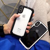 ��s�O果8x手�C�と�包防摔7plus�硅�ziPhone6s透明新款�O果x手�C�けWo套�O果7plus硅 �O果x 黑�