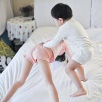 童装女童内裤平角短裤儿童四角内裤三条装女孩卡通小内裤底裤