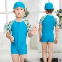 儿童泳衣女童游泳衣防晒可爱女孩婴儿套装男童泳裤连体宝宝可礼品卡支付
